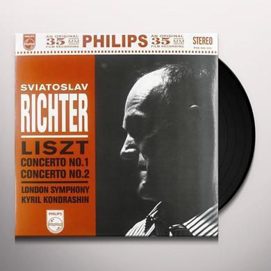 Liszt / Kondrashin PIANO CTOS 1 & 2 Vinyl Record
