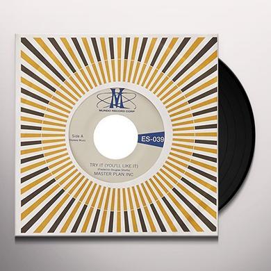 Master Plan Inc. TRY IT / MASTER PLAN INTRO Vinyl Record