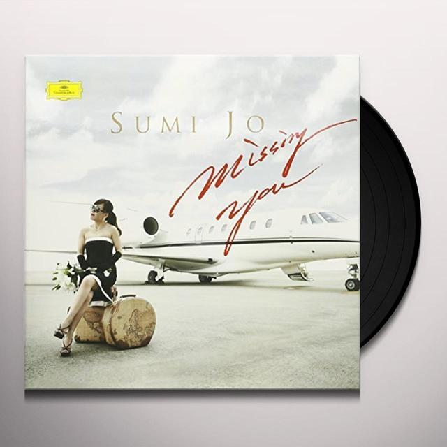 Sumi Jo MISSING YOU Vinyl Record - 180 Gram Pressing, Deluxe Edition