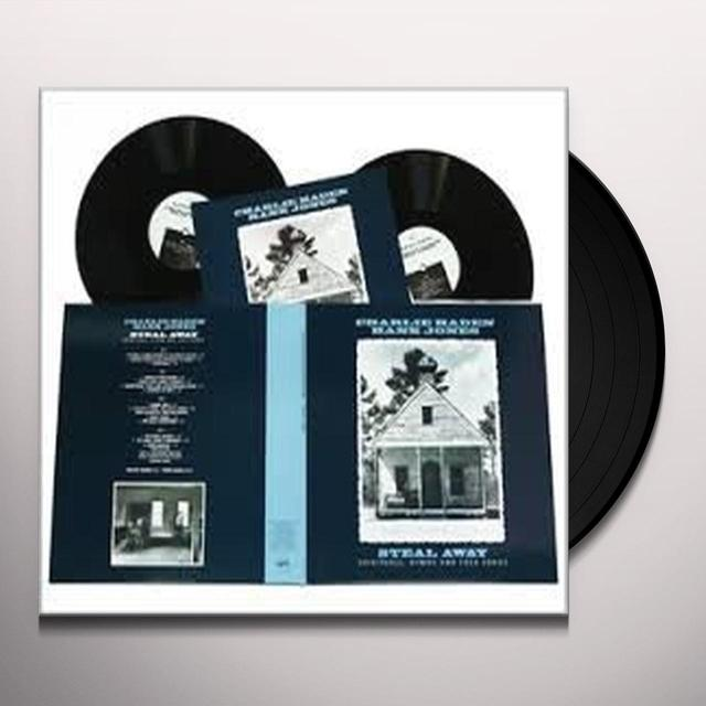 Charlie Haden / Hank Jones STEAL AWAY: SPIRITUALS HYMNS & FOLK SONGS Vinyl Record - 180 Gram Pressing