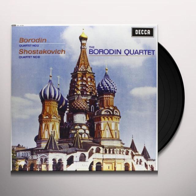 Borodin / Borodin Quartet STRING QUARTET 2 Vinyl Record