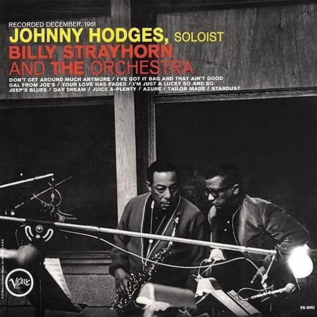 JOHNNY HODGES BILLY STRAYHORN & THE ORCHESTRA Vinyl Record