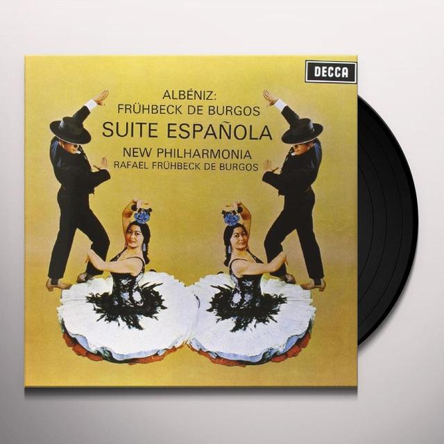 Albeniz / Burgos SUITE ESPANOLA Vinyl Record - 180 Gram Pressing