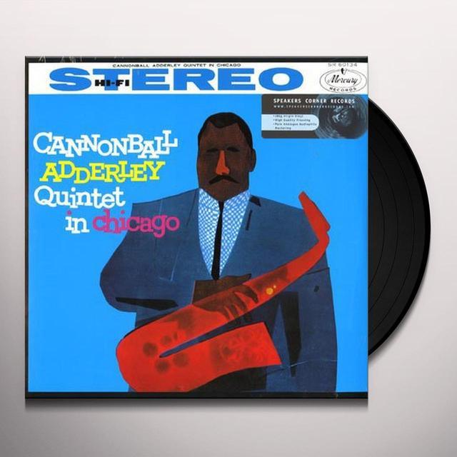 Cannonball Adderley IN CHICAGO Vinyl Record - 180 Gram Pressing