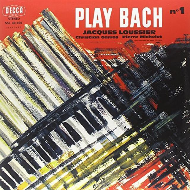 Bach / Loussier PLAY BACH 1 Vinyl Record - 180 Gram Pressing