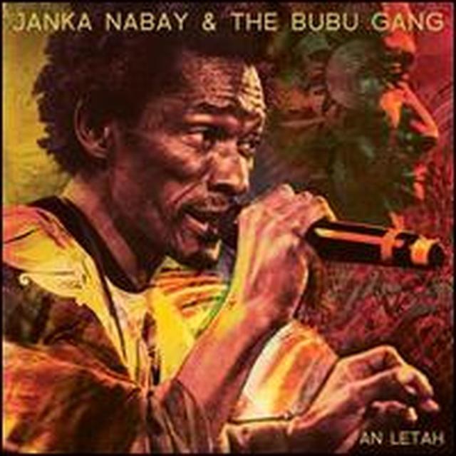 Janka Nabay & The Bubu Gang AN LETAH Vinyl Record - Canada Import