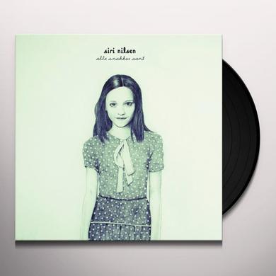 Siri Nilsen ALLE SNAKKER SANT (LIMITED EDITION BLUE VINYL) Vinyl Record