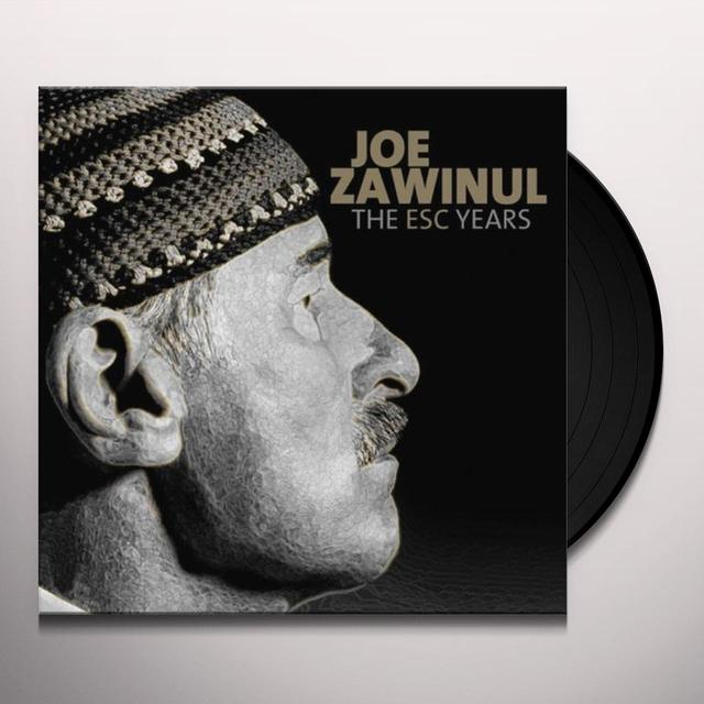 Joe Zawinul ESC YEARS Vinyl Record - UK Import