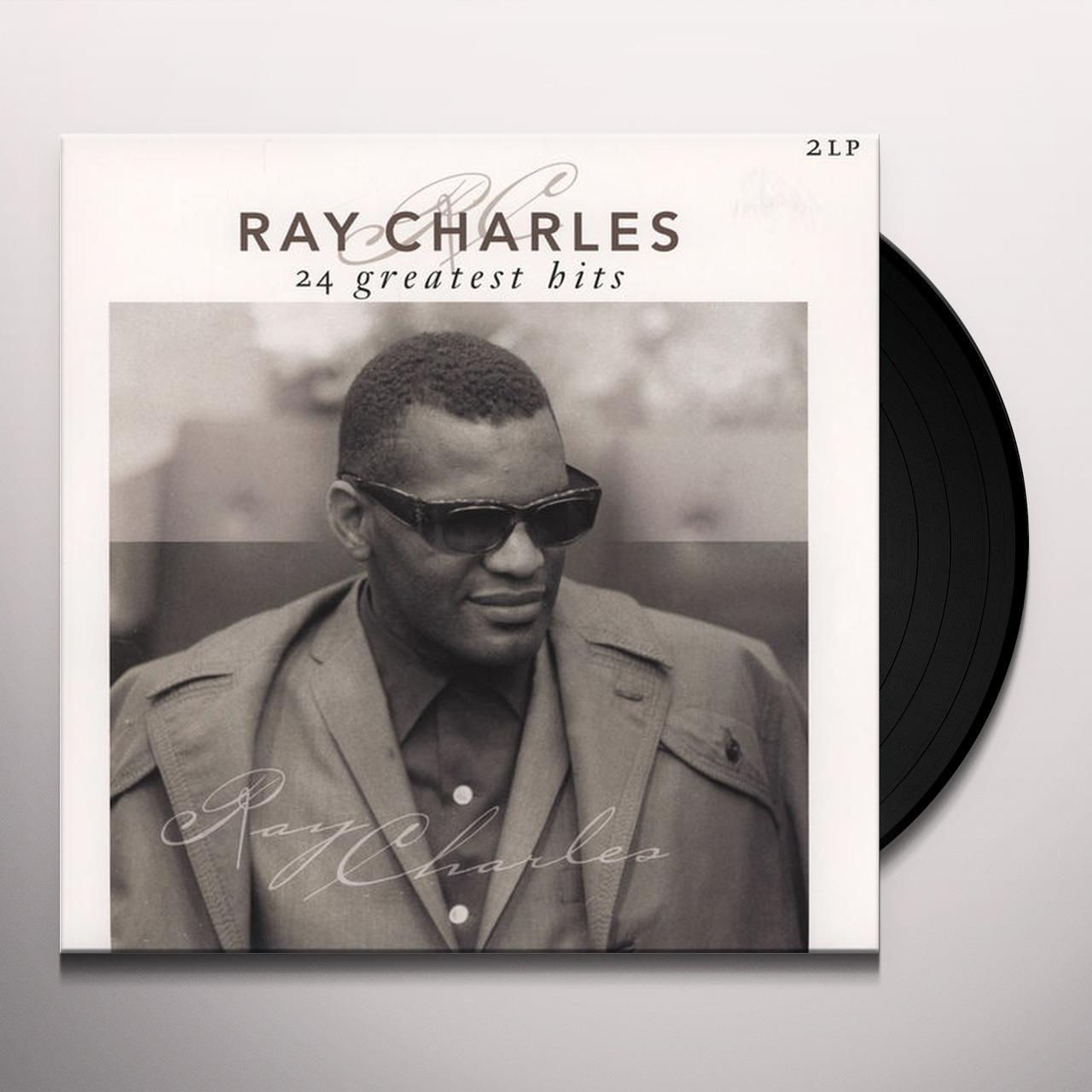 Ray Charles 24 GREATEST HITS Vinyl Record