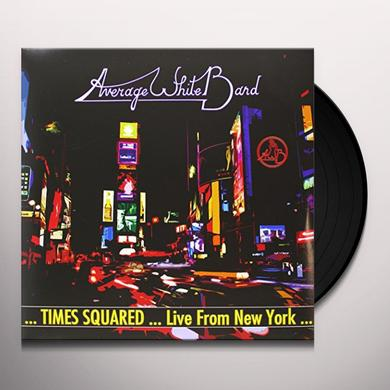 Average White Band TIMES SQUARED-LIVE FROM NEW YORK Vinyl Record