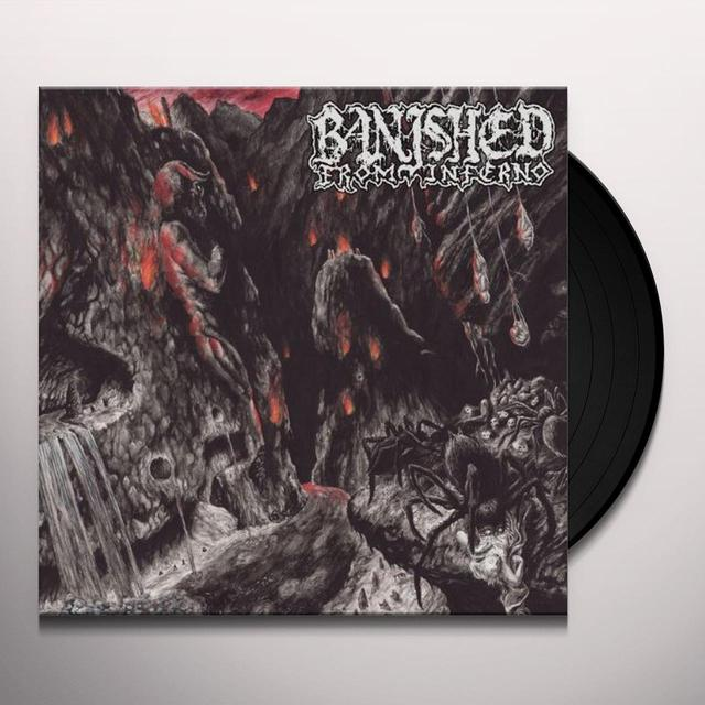 Banished From Inferno MINOTAUR Vinyl Record