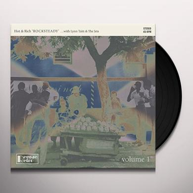 Hot & Rich With Taitt/Lynn & The Jets ROCKSTEADY 1 Vinyl Record