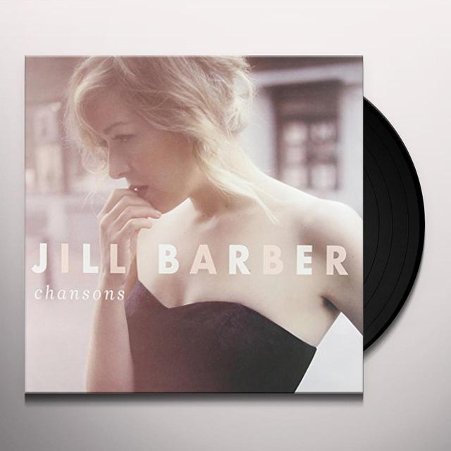 Jill Barber CHANSONS Vinyl Record - Canada Import