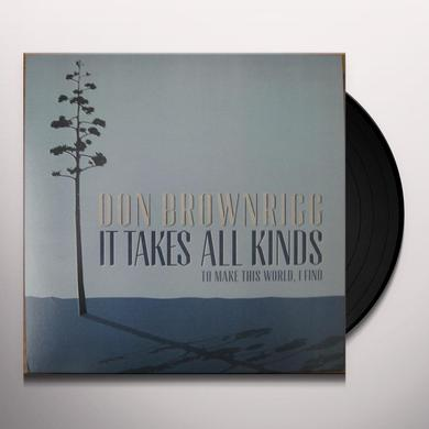 Don Brownrigg IT TAKES ALL KINDS Vinyl Record - Canada Import