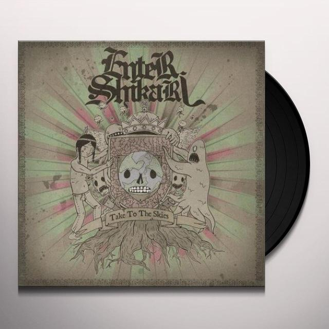 Enter Shikari TAKE TO THE SKIES Vinyl Record - UK Import