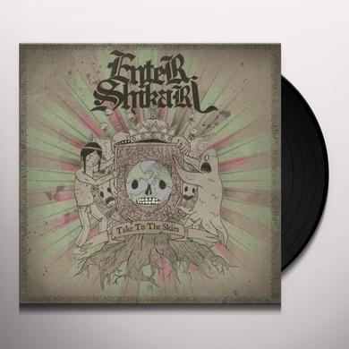 Enter Shikari TAKE TO THE SKIES Vinyl Record - UK Release