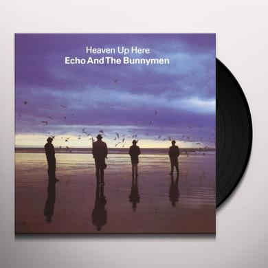 Echo & the Bunnymen HEAVEN UP HERE Vinyl Record - UK Import