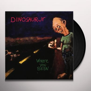 Dinosaur Jr. WHERE YOU BEEN Vinyl Record - UK Import