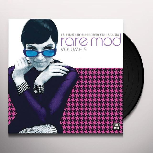 Rare Mod 5 / Various (Uk) RARE MOD 5 / VARIOUS Vinyl Record - UK Import