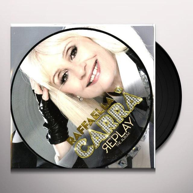 Raffaella Carra' REPLAY Vinyl Record - Italy Release