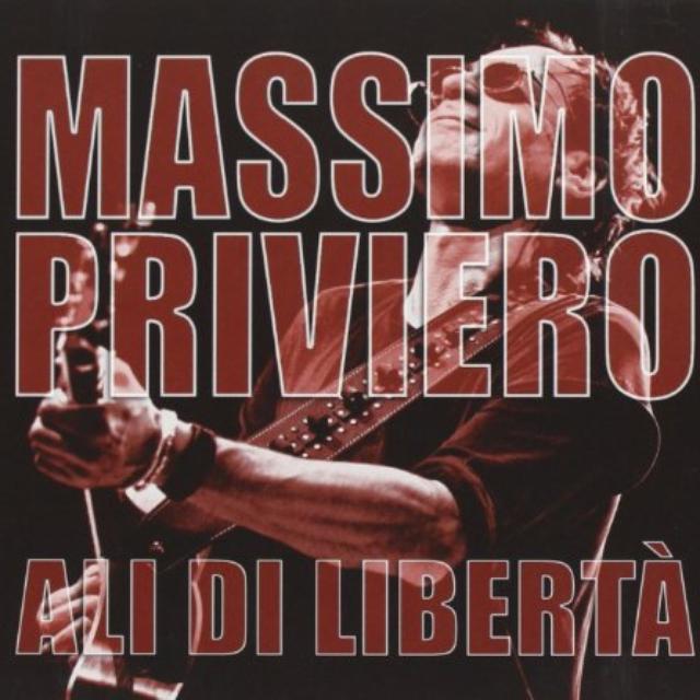 Massimo Priviero ALI DI LIBERTA Vinyl Record