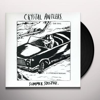 Crystal Antlers SUMMER SOLSTICE Vinyl Record - Canada Import