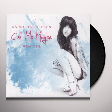 Carly Rae Jepsen CALL ME MAYBE REMIXES Vinyl Record - Canada Import