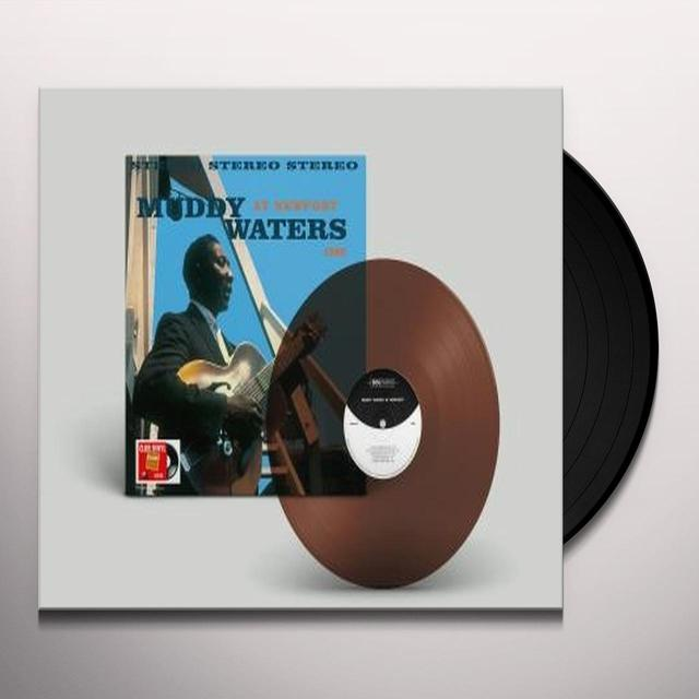 Muddy Waters AT NEWPORT 1960 Vinyl Record - Holland Import