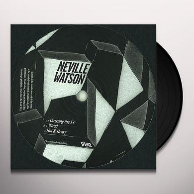 Neville Watson HOT & HEAVY EP Vinyl Record - UK Import