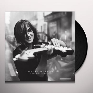 Sophie Hunger RULES OF FIRE-THE LIVE Vinyl Record - UK Import