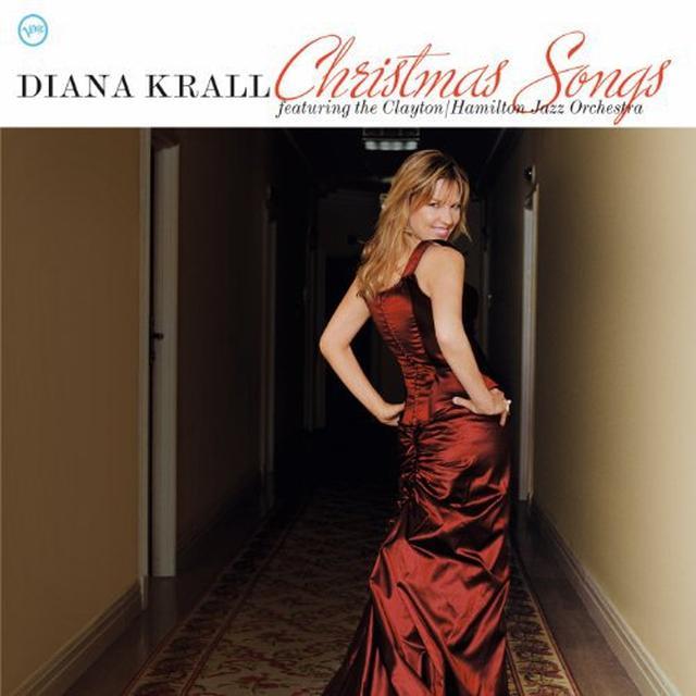 Diana Krall CHRISTMAS SONGS Vinyl Record - Holland Import