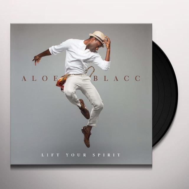 Aloe Blacc LIFT YOUR SPIRIT Vinyl Record