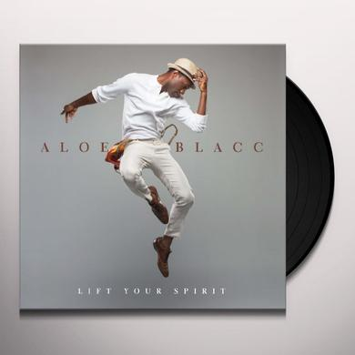 Aloe Blacc LIFT YOUR SPIRIT Vinyl Record - Holland Import