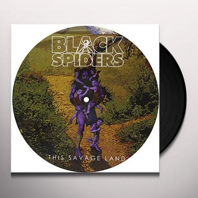 Black Spiders THIS SAVAGE LAND (GER) Vinyl Record