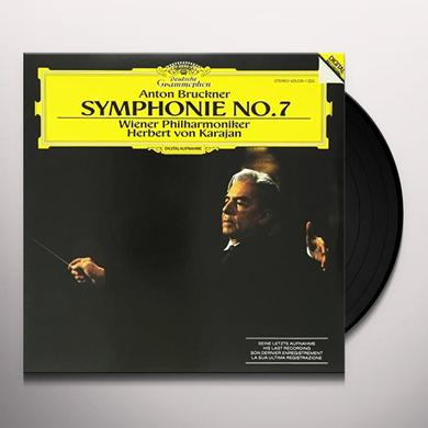 Anton Bruckner SYMPHONY NO. 7/VON KARAJAN Vinyl Record