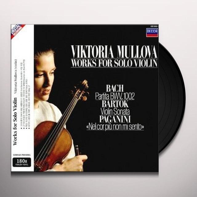 Viktoria Mullova WORKS FOR SOLO VIOLIN Vinyl Record