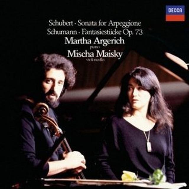 Schubert / Martha Argerich / Mischa Maisky SONATA FOR ARPEGGIONE / FANTASIES (HK) Vinyl Record