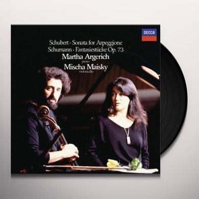 Schubert / Martha Argerich / Mischa Maisky SONATA FOR ARPEGGIONE / FANTASIES Vinyl Record