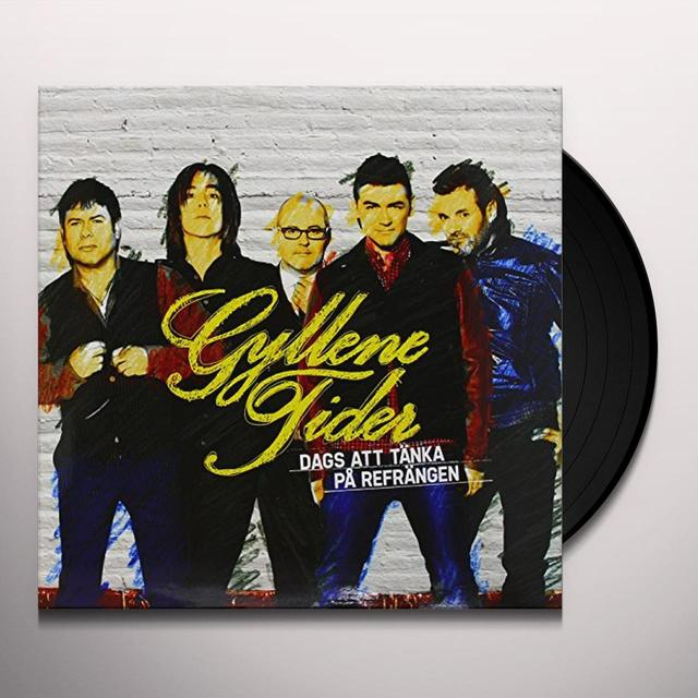 Gyllene Tider DAGS ATT TANKA PA REFRANGEN (HK) Vinyl Record