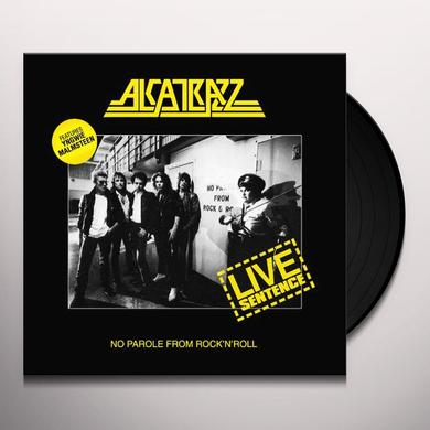 Alcatrazz LIVE SENTENCE Vinyl Record - 180 Gram Pressing, UK Import