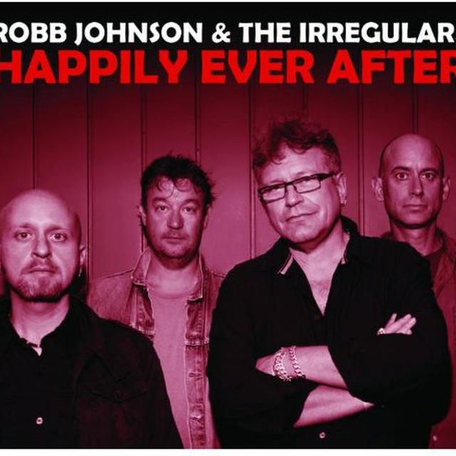 Robb Johnson & The Irregulars HAPPILY EVER AFTER Vinyl Record