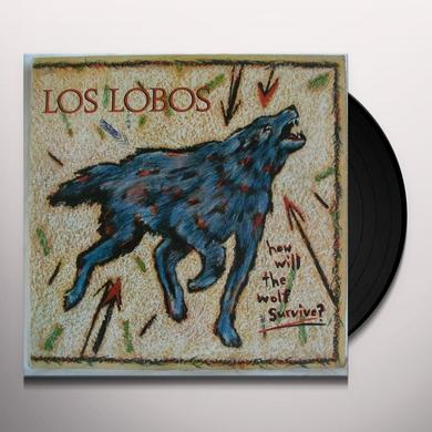 Los Lobos HOW WILL THE WOLF SURVIVE Vinyl Record - Holland Import