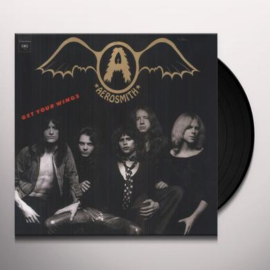 Aerosmith GET YOUR WINGS Vinyl Record - Holland Import