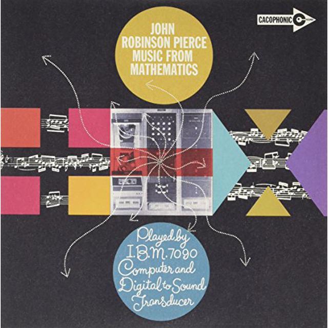 John Robinson Pierce MUSIC FROM MATHEMATICS Vinyl Record