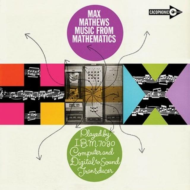 Max Mathews MUSIC FROM MATHEMATICS Vinyl Record