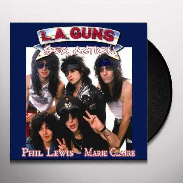 L.A Guns/Phil Lewis SEX ACTION/MARIE CLAIRE (UK) (Vinyl)