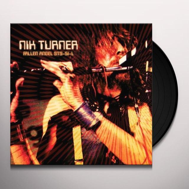 Nik Turner FALLEN ANGEL STS-51-L Vinyl Record - UK Import