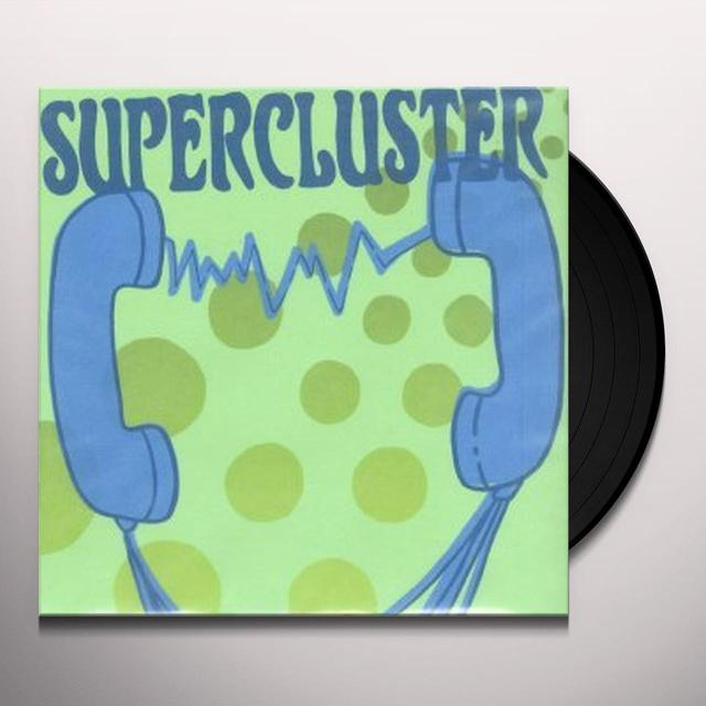 Supercluster I GOT THE ANSWER B/W SUNFLOWER CLOCK Vinyl Record