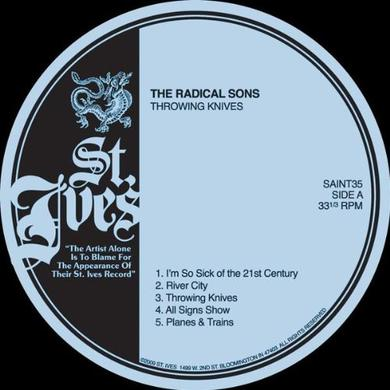 Radical Sons THROWING KNIVES Vinyl Record