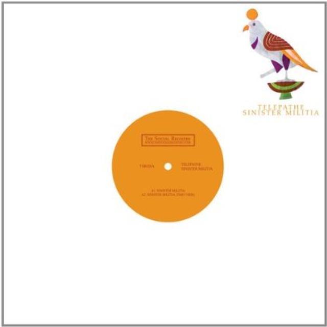 Telepathe SINISTER MILITIA Vinyl Record